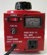 Difference between variac and autotransformer